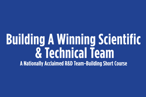 Building A Winning Scientific & Technical Team